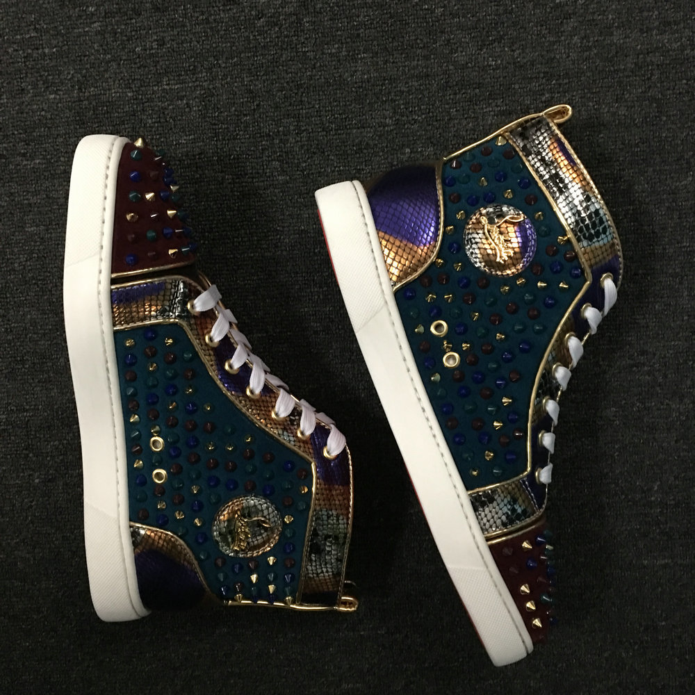 Louboutin High Top Sneakers CLHT584_IMG_9374