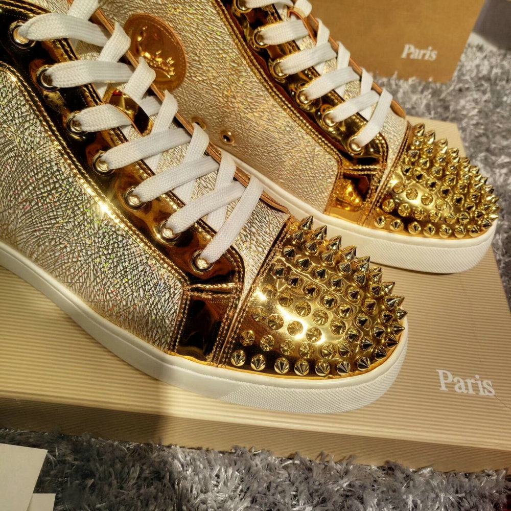 Louboutin High Top Sneakers CLHT585_IMG_9545