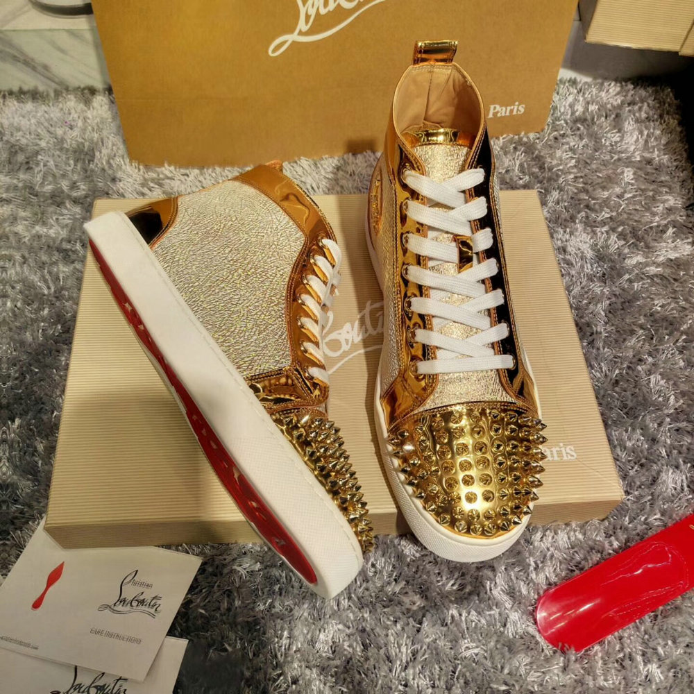 Louboutin High Top Sneakers CLHT585_IMG_9549