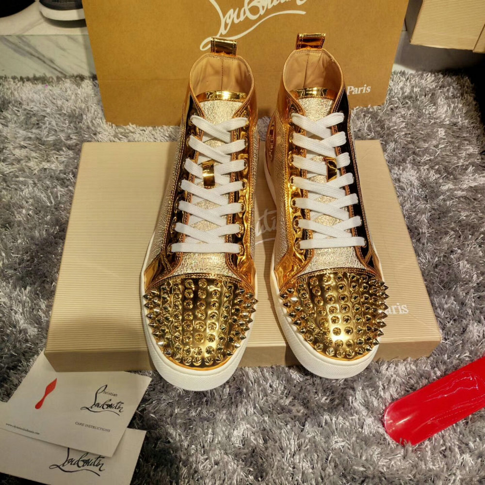 Louboutin High Top Sneakers CLHT585_IMG_9550