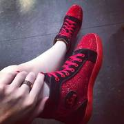 Louboutin High Tops CLHT144