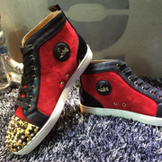 Louboutin Leopard High Top CLHT336