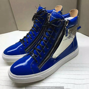 Giuseppe Zanotti Leather High Tops Sneakers GZHT195