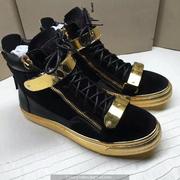 Giuseppe Zanotti Leather High Tops Sneakers GZHT196