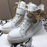 Giuseppe Zanotti Leather High Tops Sneakers GZHT197