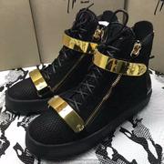 Giuseppe Zanotti Leather High Tops Sneakers GZHT198