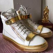 Giuseppe Zanotti Leather High Tops Sneakers GZHT199