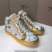 Giuseppe Zanotti Leather High Tops Sneakers GZHT201