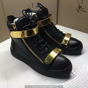 Giuseppe Zanotti Leather High Tops Sneakers GZHT203