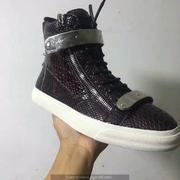 Giuseppe Zanotti Leather High Tops Sneakers GZHT204