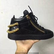 Giuseppe Zanotti Leather High Tops Sneakers GZHT205