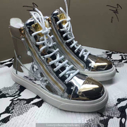 Giuseppe Zanotti Leather High Tops Sneakers GZHT206