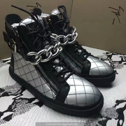 Giuseppe Zanotti Leather High Tops Sneakers GZHT207
