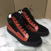 Giuseppe Zanotti Leather High Tops Sneakers GZHT208