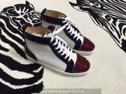 Louboutin High Top Sneakers CLHT382