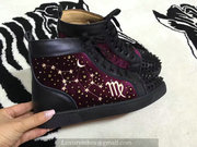 Louboutin High Top Sneakers CLHT385