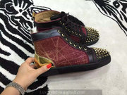 Louboutin High Top Sneakers CLHT402