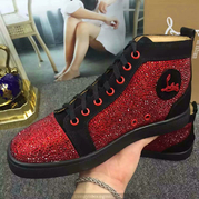 Louboutin High Top Sneakers CLHT408
