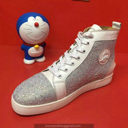 Louboutin High Top Sneakers CLHT409