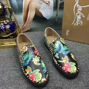 Louboutin Low Top Flats CLLT216