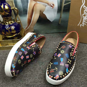 Louboutin Low Top Flats CLLT217