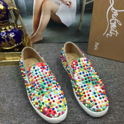 Louboutin Low Top Flats CLLT218