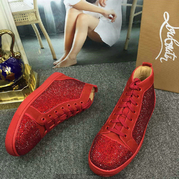Louboutin High Top Sneakers CLHT415