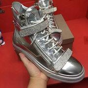 Giuseppe Zanotti Leather Sneakers GZHT26808