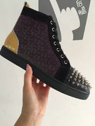 Louboutin High Top Sneakers CLHT425