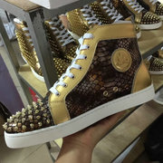 Louboutin High Top Sneakers CLHT427