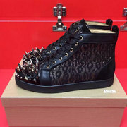 Louboutin High Top Sneakers CLHT443