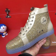 Louboutin High Top Sneakers CLHT444