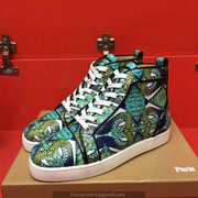 Louboutin High Top Sneakers CLHT453