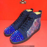 Louboutin High Top Sneakers CLHT454