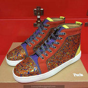 Louboutin High Top Sneakers CLHT460
