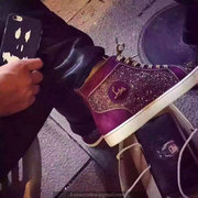 Louboutin High Top Sneakers CLHT464