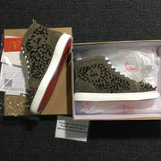 Louboutin High Top Sneakers CLHT502
