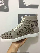 Louboutin Louis Spikes Sneakers CLHT514