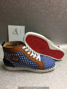 Louboutin Louis Spikes Sneakers CLHT515