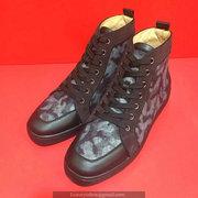 Louboutin Black Rhinestone Sneakers CLHT516