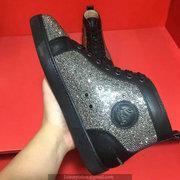 Louboutin Black Rhinestone Sneakers CLHT526