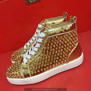 Louboutin Louis Spikes Sneakers CLHT527