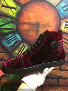 Louboutin Louis Spikes Sneakers CLHT532