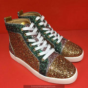 Louboutin High Top Sneakers CLHT543