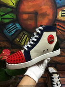 Louboutin Lou Spikes Sneakers CLHT549