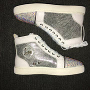 Louboutin Rhinestone Sneakers CLHT567