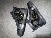 Louboutin Lou Spikes Sneakers CLHT565
