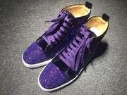 Louboutin Rhinestone Sneakers CLHT572