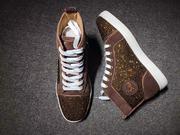Louboutin Rhinestone Sneakers CLHT575
