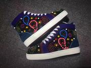 Louboutin Rhinestone Sneakers CLHT576
